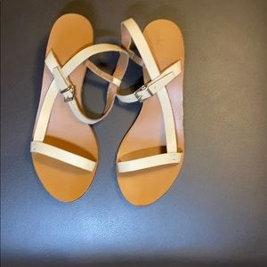 Top Shop Strappy Nude Sandal